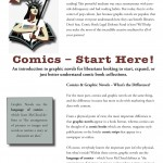 Comics Start Here Front Page