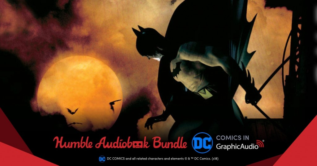 Humble Audiobook Bundle from DC Comics to Benefit CBLDF!