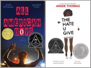 All American Boys and The Hate U Give Covers
