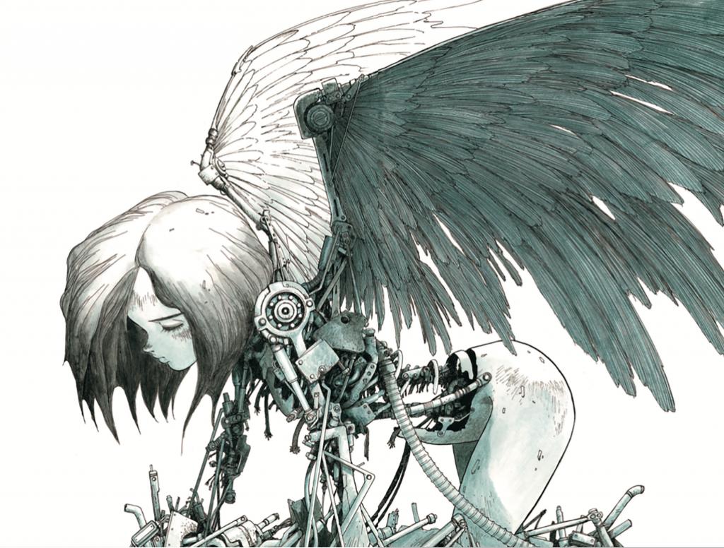 Battle Angel Alita Supports CBLDF!