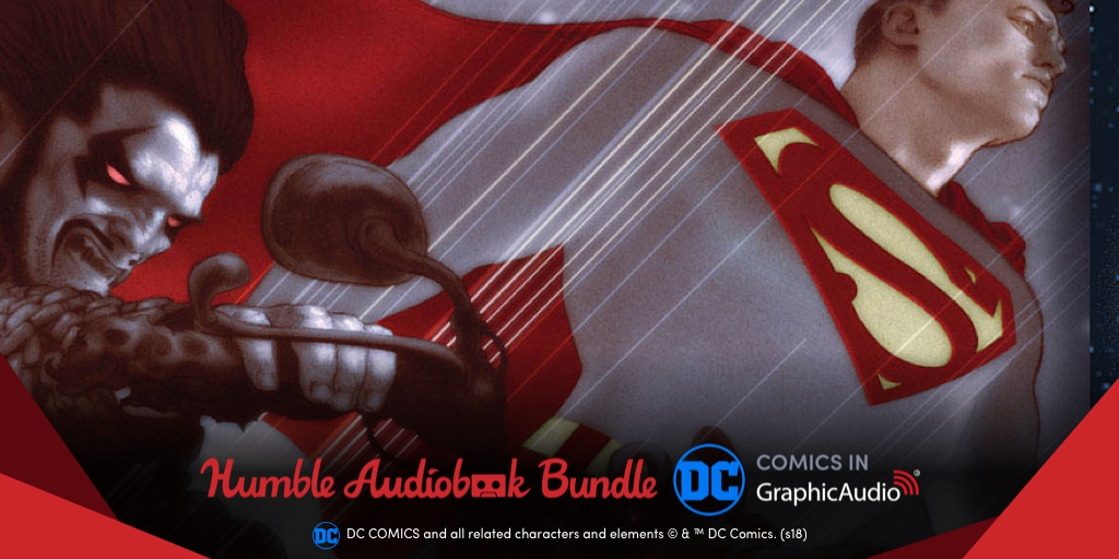 DC Audiobooks Humble Bundle