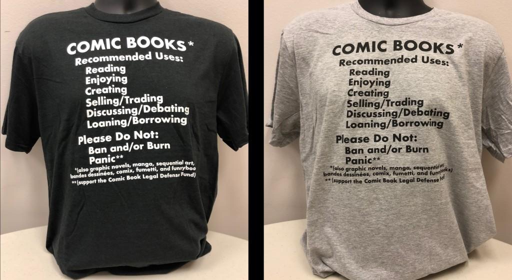 both comic uses shirts