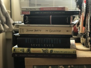 books and comics cohabitating