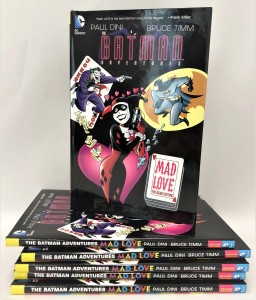 Batman Adventures: Mad Love Signed by Bruce Timm & More Signed DC GNs Benefit CBLDF!