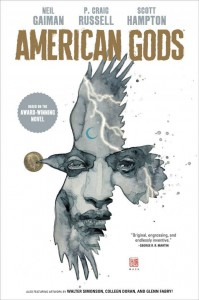 American Gods, Sandman, & More GNs signed by Neil Gaiman Benefit CBLDF!