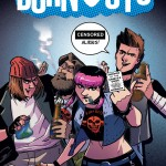 Burnouts CBLDF Cover