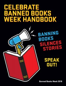 2018 Banned Books Week Handbook cover