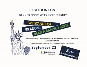 Kick Off Banned Books Week with CBLDF and Events Around the Country