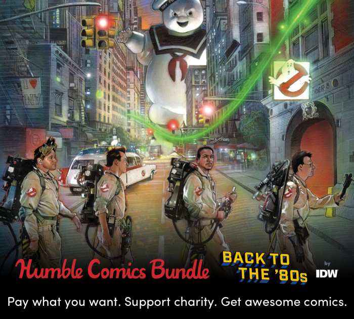 Go Back to the 80s with this Rad Humble Bundle from IDW that Benefits CBLDF!