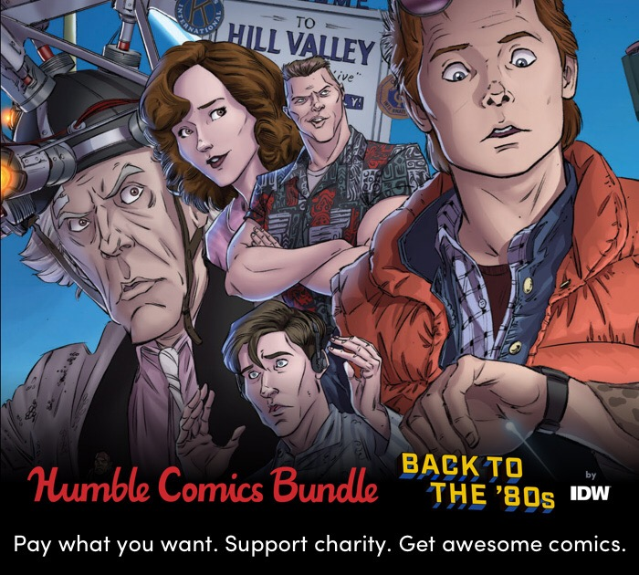 LAST WEEK! Support Free Expression and Children's Literacy with IDW's Huge 80s Humble Comics Bundle
