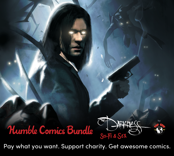 LAST WEEK! Support CBLDF and Get $757 Worth of Digital Comics with Top Cow's Sexy Sci-Fi Humble Bundle