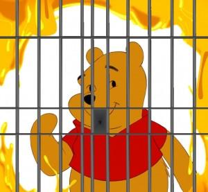 winnie behind bars