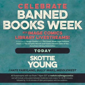 Skottie Young Library Livestream