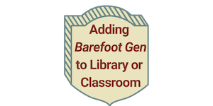 Adding Barefoot Gen to Library or Classroom button