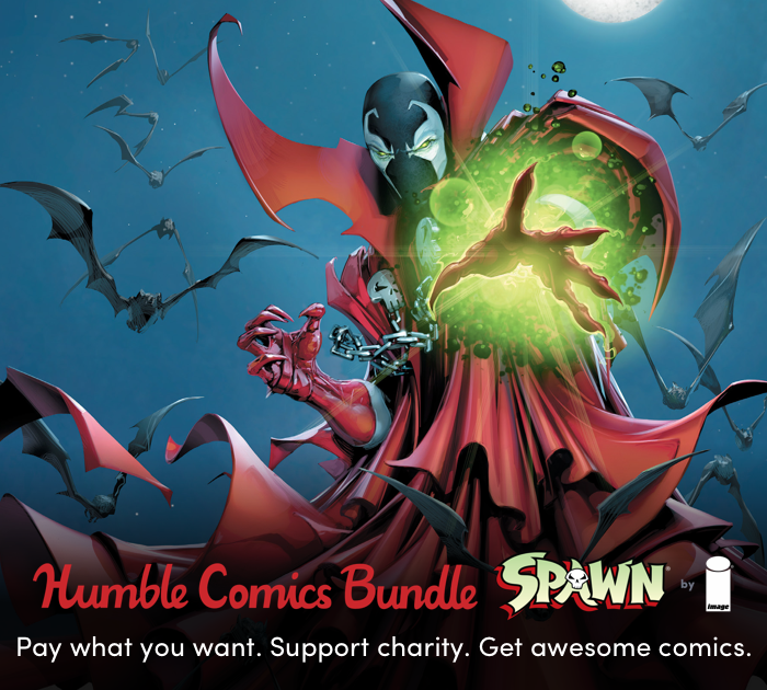 New Spawn Humble Bundle from Image Comics Benefits CBLDF!