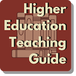 Higher Ed teach button