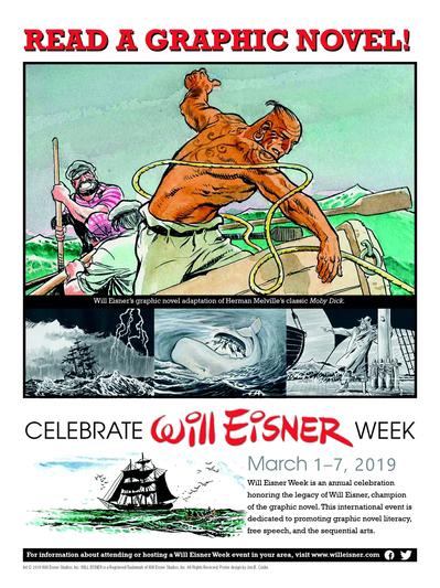 Celebrate Will Eisner Week!