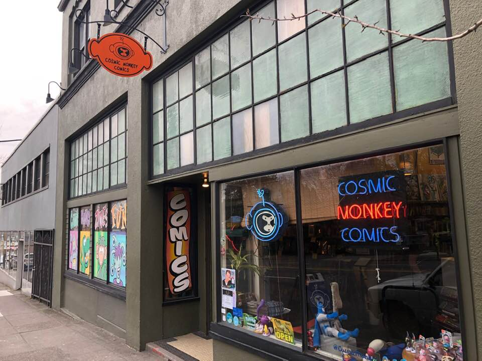 Retailer Spotlight: Cosmic Monkey Comics