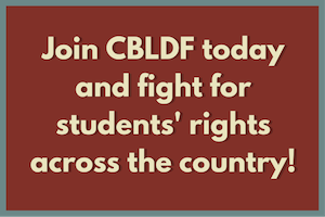 Copy of Support CBLDF's fight for students everywhere! Become a member today!
