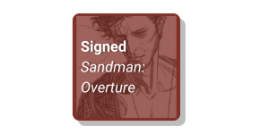 Signed sandman