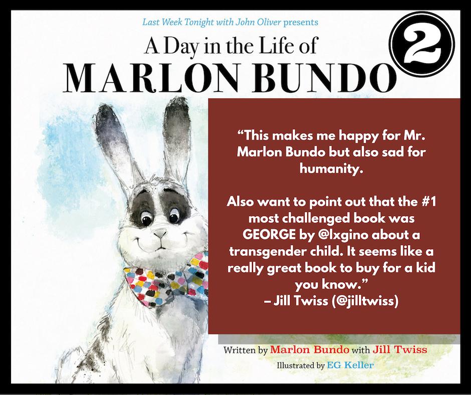 Jill Twiss Tweets about Marlon Bundo