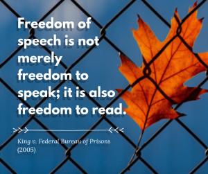 Freedom of speech is not freedom to speak