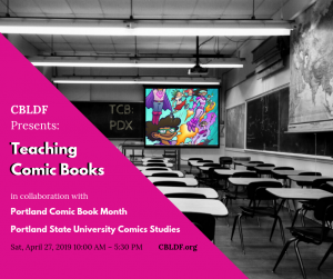 Join CBLDF for One Day Intensive – Teaching Comic Books