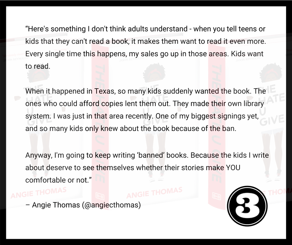 Angie Thomas Talk The Hate U Give