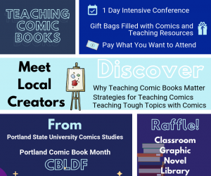 Speakers Announced For CBLDF's Teaching Comic Books Conference!