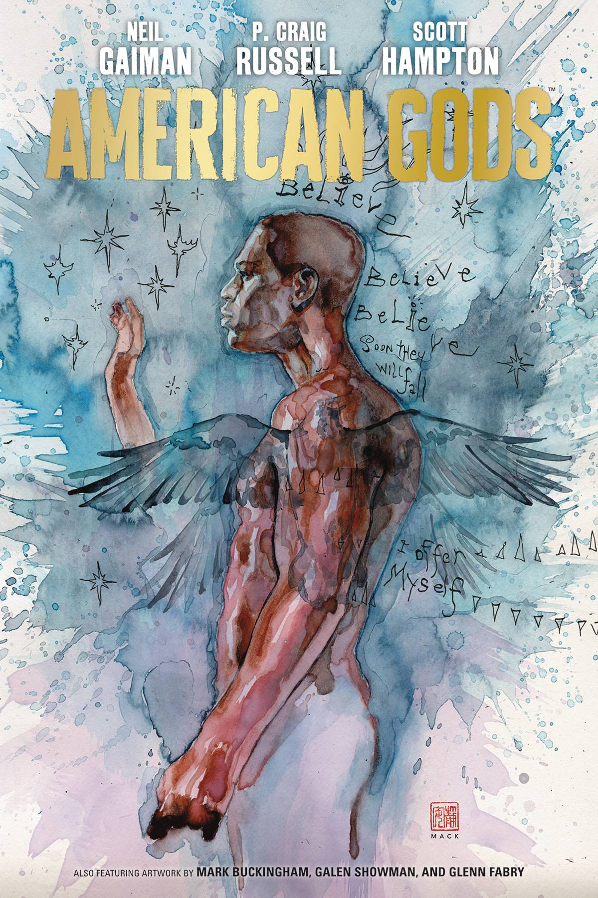Support The CBLDF With American Gods Volume 2: My Ainsel Signed By Neil Gaiman!
