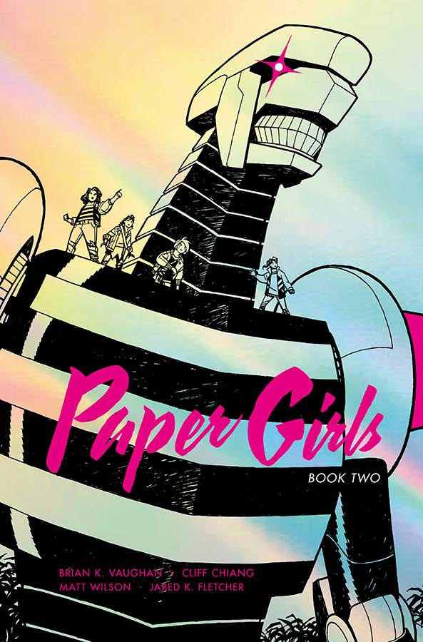 Brand-New Paper Girls HC Signed by Brian K. Vaughan & Cliff Chiang Benefits CBLDF!