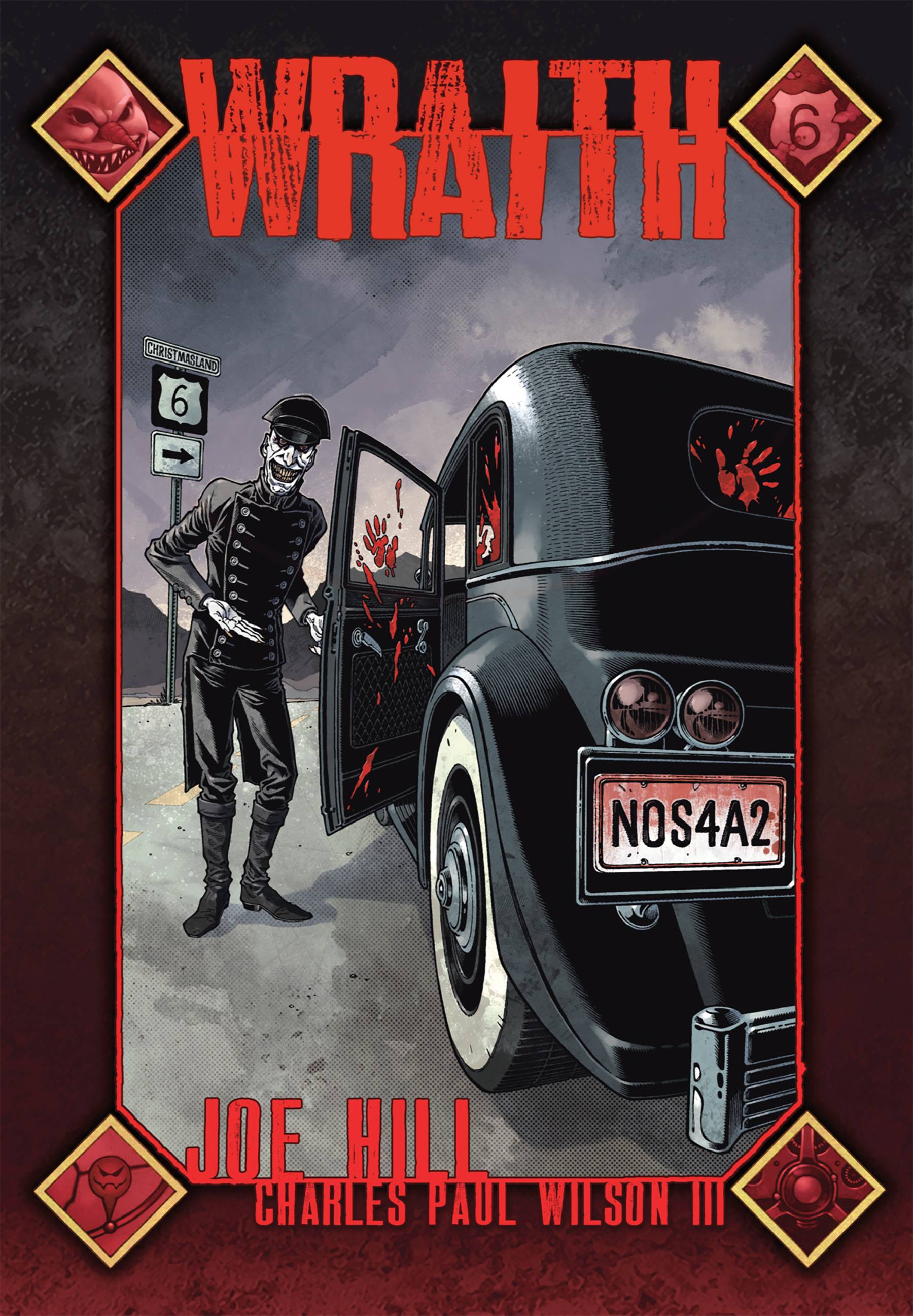Get ready for NOS4A2 with Wraith Signed by Joe Hill! Plus new Goon from Eric Powell!
