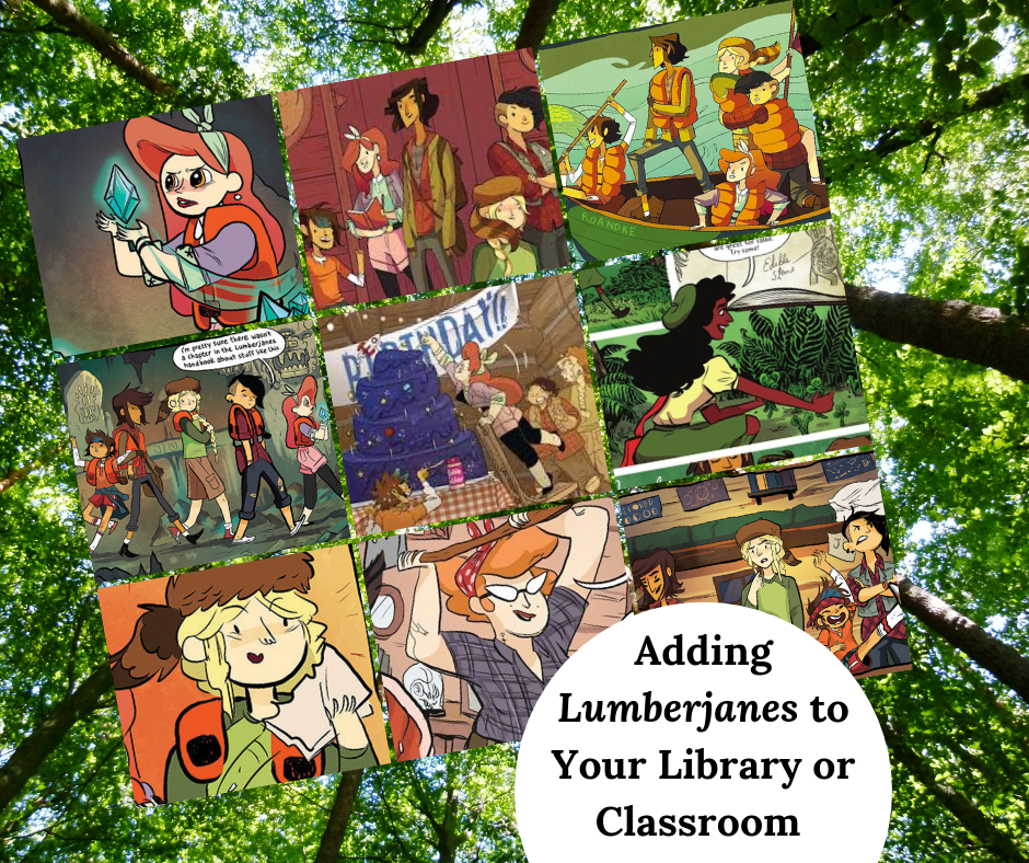 Adding Lumberjanes to Your Library or Classroom Collection