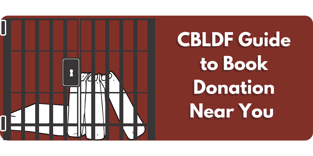 CBLDF GUIDE TO BOOK DONATION