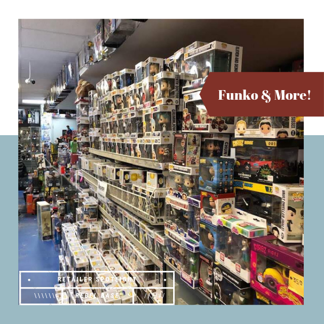 CBLDF Retailer Spotlight: Rebel Base Comics & Toys | Comic