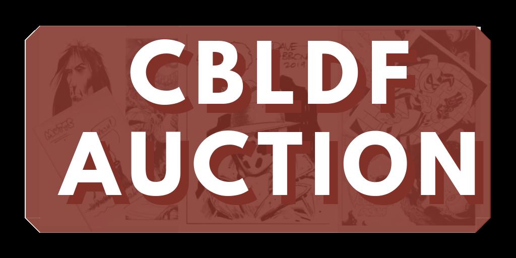 CBLDF Auction button
