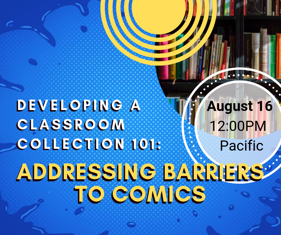 New CBLDF Webinar Addressing Barriers to Comics