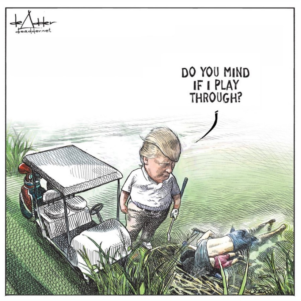 Canadian Cartoonist Let Go After Trump Cartoon Goes Viral