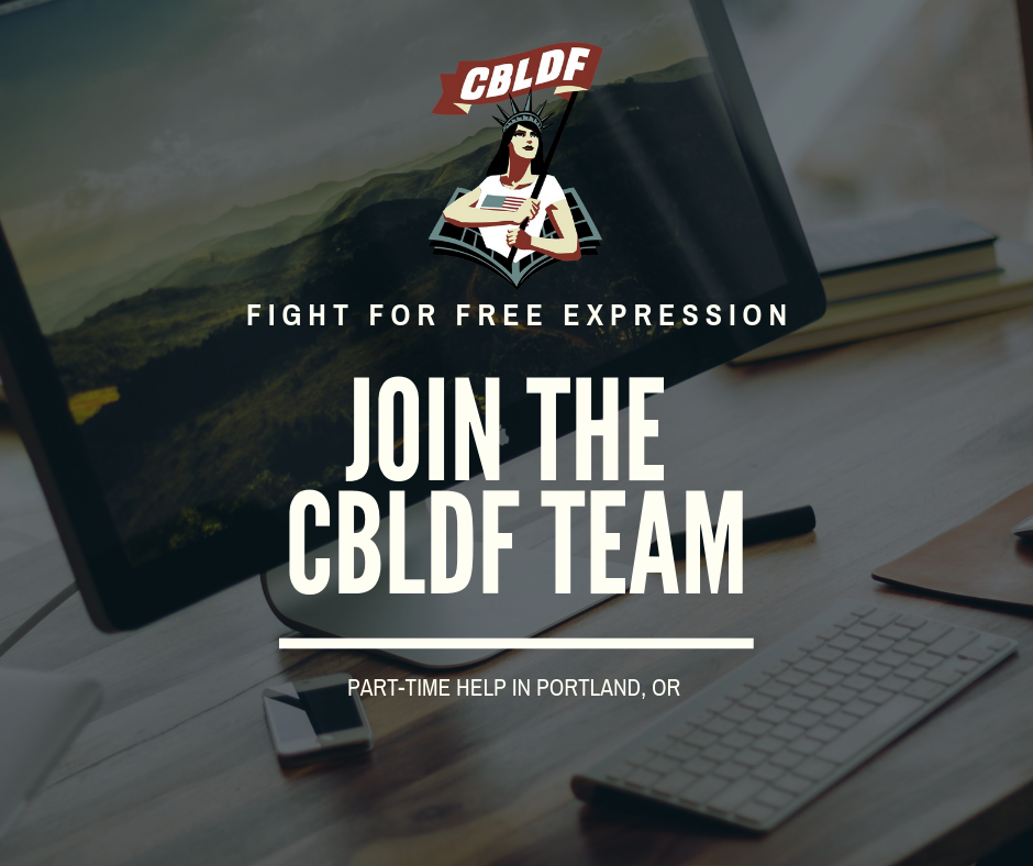 Portland Area Comics Fans: Join the CBLDF Team!