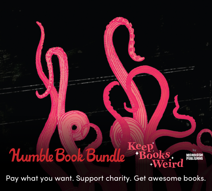 Keep Books Weird and Support CBLDF with the latest Humble Bundle from Microcosm Publishing!!
