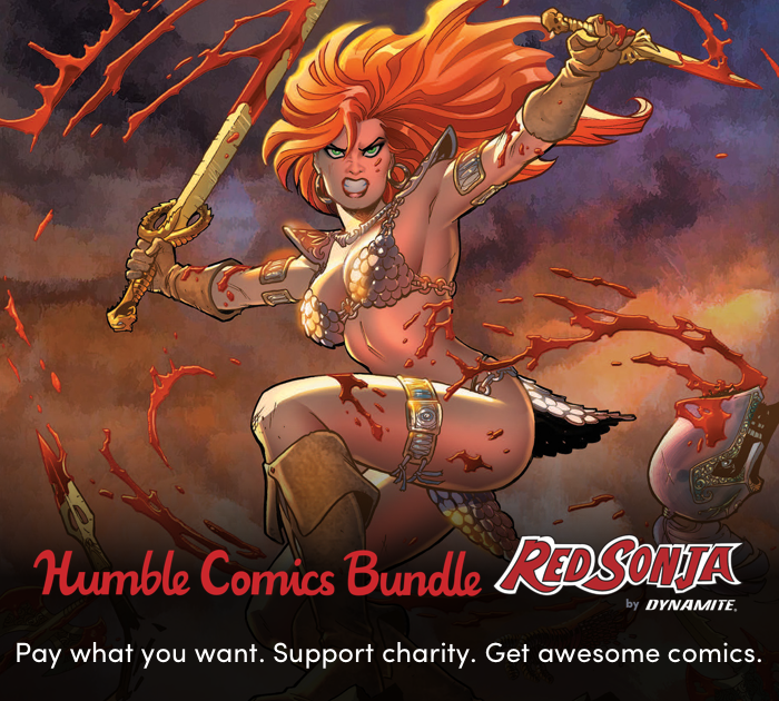 Last Week! Red Sonja and Dynamite Support the Fight for Free Expression!
