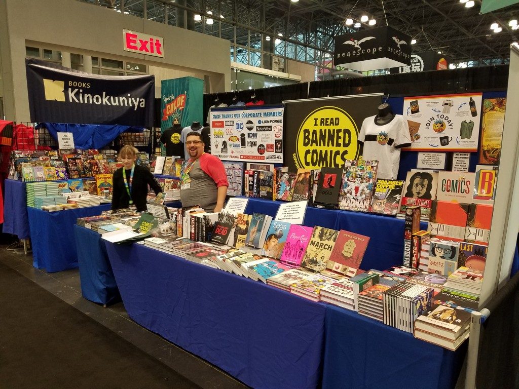 Support Free Expression at New York City Comic Con with CBLDF! Booth#2109