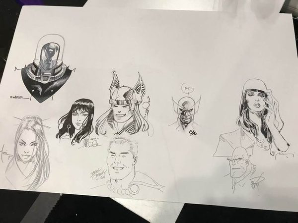 Sneak Peek: San Diego Comic Con 2020 CBLDF Art Jam Piece