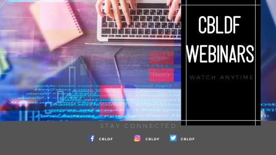 CBLDF Webinars Banner