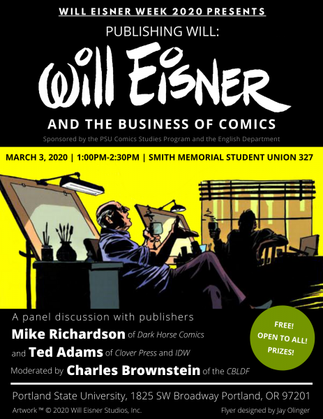 Will Eisner Week 2020, Join Us for a Discussion