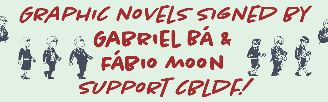 Umbrella Academy and More GNs Signed by Gabriel Bá & Fábio Moon!