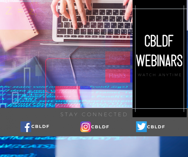 Upcoming Educator & Librarian CBLDF Webinars
