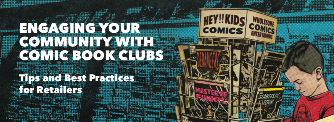 Retailer Resource for Remote Comic & Manga Book Clubs