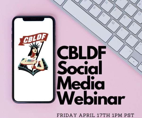 CBLDF Social Media Webinar (2)
